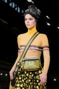 Kendall Jenner - Nipple Show on the Catwalk - 13 Sept. 2017